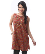 kalamkari-bias-sleeveless-tunic