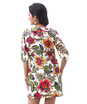 Floral peterpan collar tunic