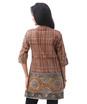 kalamkari daman collar tunic