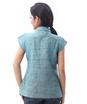 linen pleated shirt
