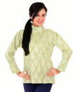 brocade-cotton-formal-top
