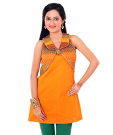 chanderi-tunic-with-mock-shrug