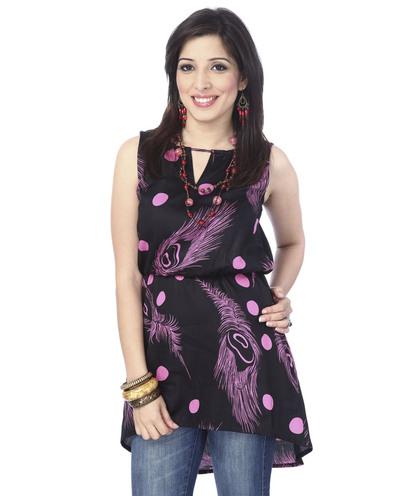 Assymetrical tunic dress