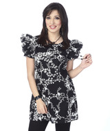 butterfly-sleeves-monochrome-tunic