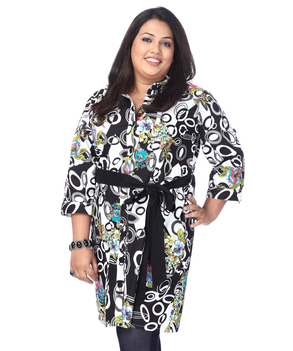 Verdant coat style dress