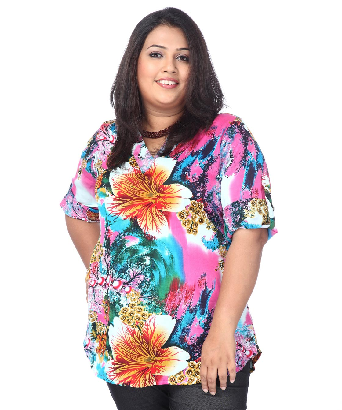 Floral-Pearl medley top