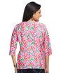 Dolman sleeve floral top