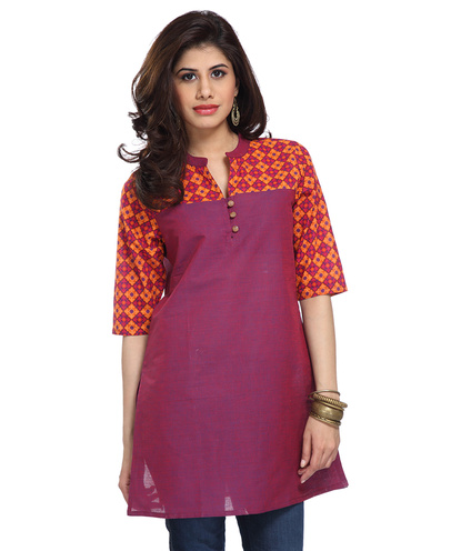 Classic handcrafted tunic