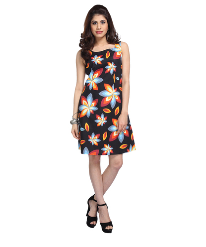 Bold print Shift Dress
