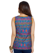 ENAH folk print top
