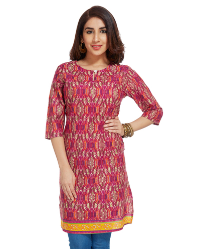 Handprinted Kurta