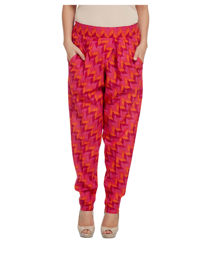 ENAH graphic printed pants