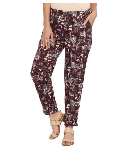 ENAH funky printed pants