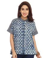 enah-denim-and-print-shirt