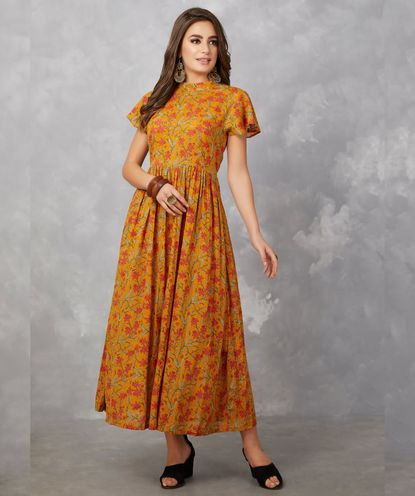 kota cotton long dress