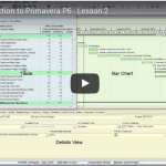 YouTube Lesson 2: Intro To Primavera P6
