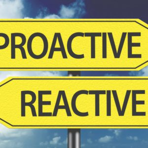 Are You Practicing Reactive or Proactive Scheduling?