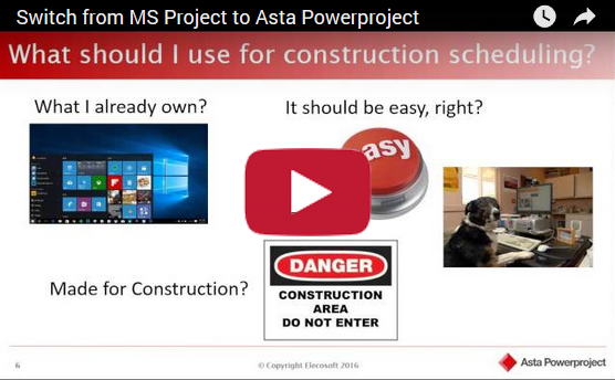 Video: MS Project vs. Asta Powerproject