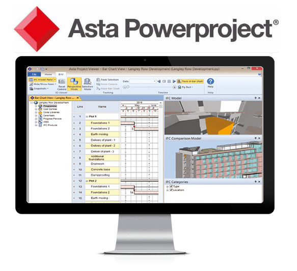 Asta Powerproject Advantages