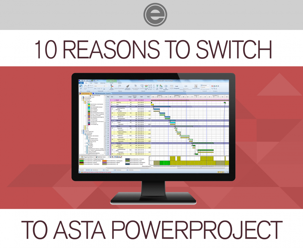 Ten reasons to switch to Asta Powerproject