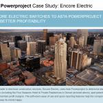 Asta Powerproject Case Study - Encore Electric