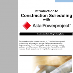 Training Manual Outline: Intro to Asta Powerproject Training Manual
