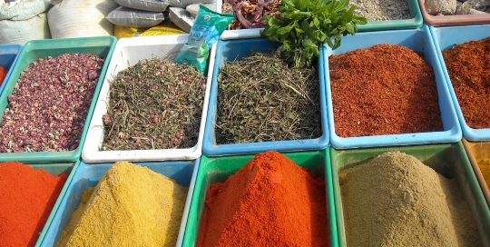 spice market Tunisia