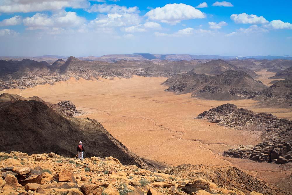 Wadi Rum desert from Jabal Um Ad Dammi - Wadi Rum Tour - 264
