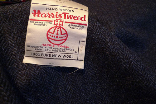 harris tweed etikett