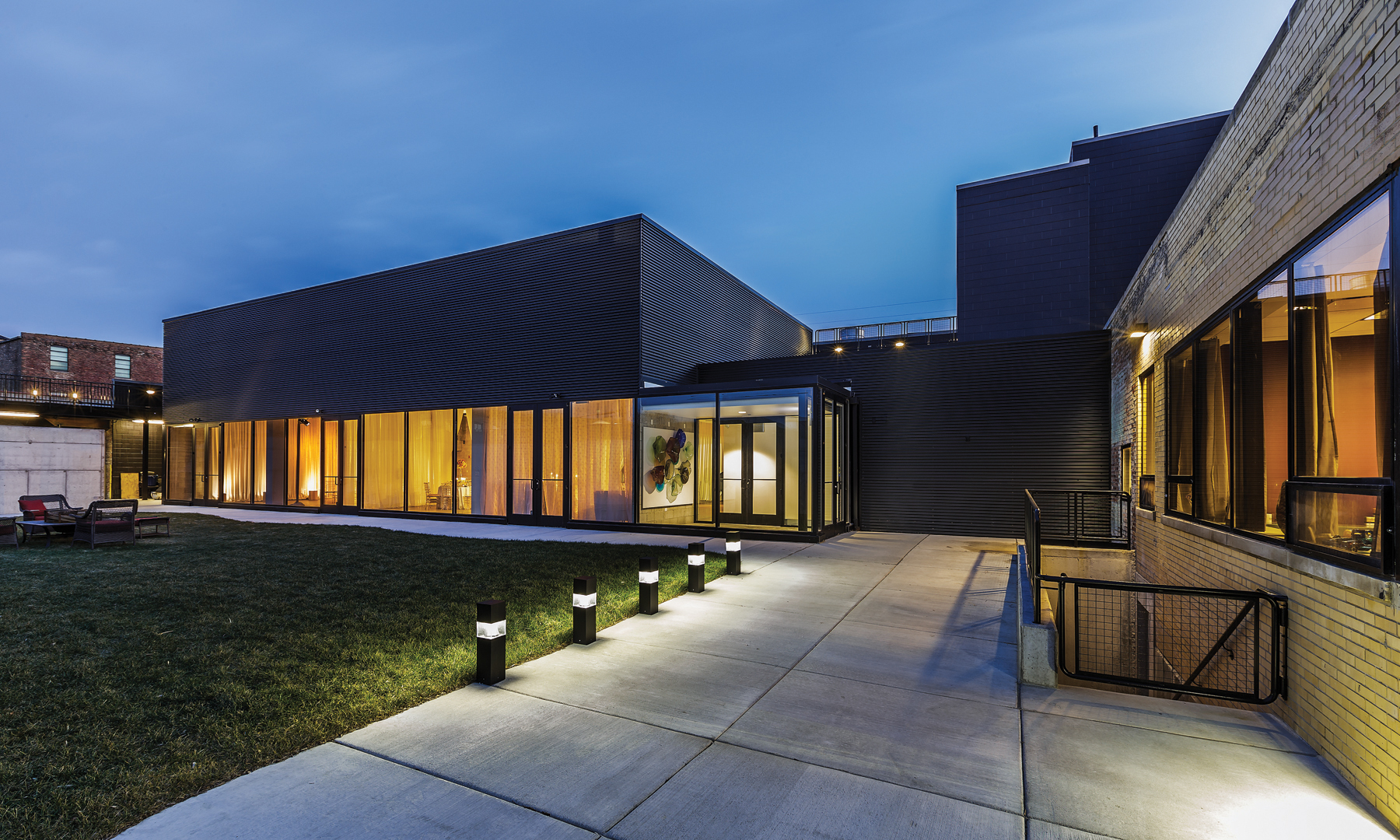 Our Design Of Chicagos Ignite Glass Studios Won Two Awards An Architectural Distinguished Building As Well A Divine Detail