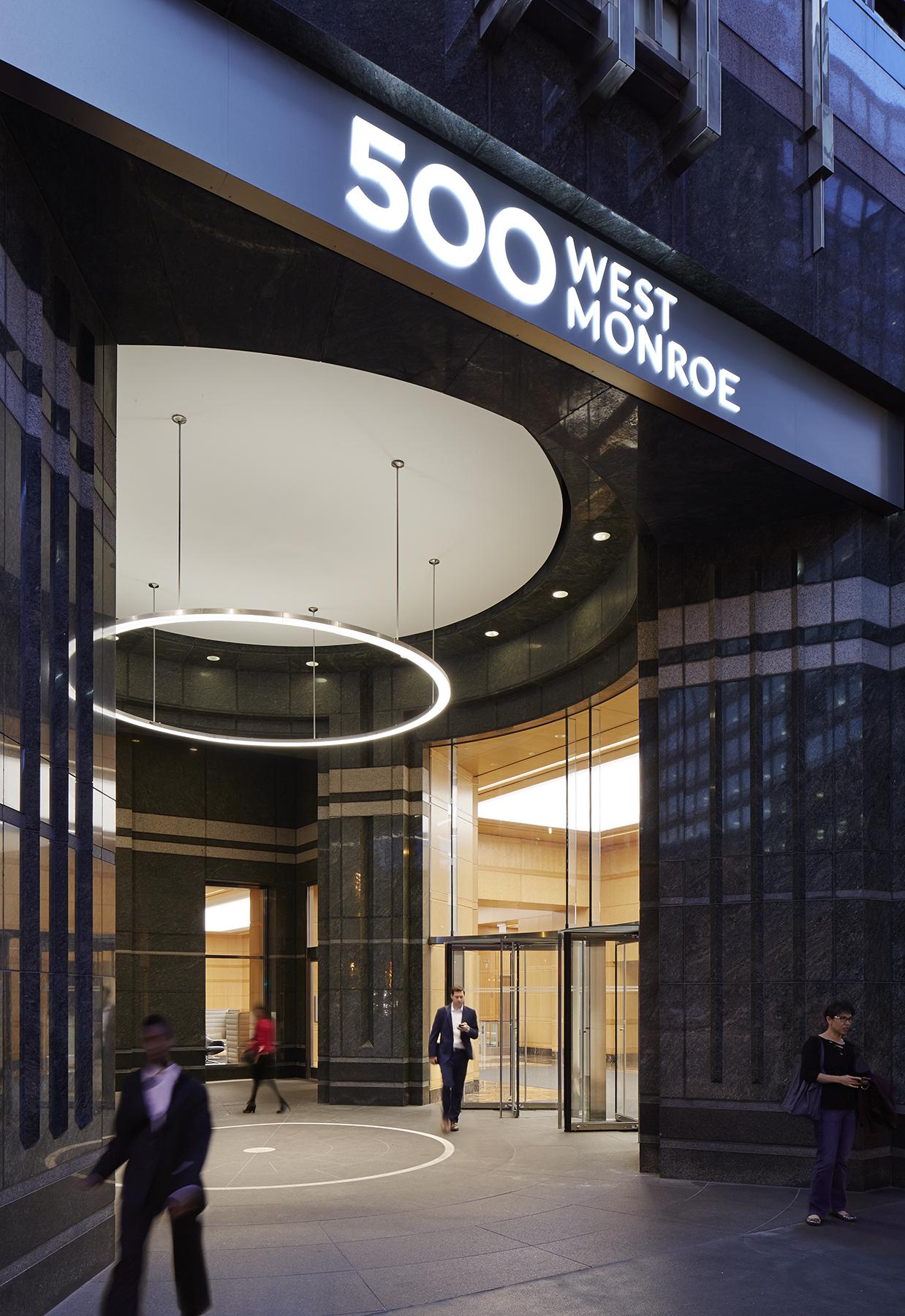 500 West Monroe Chicago Illinois Exterio