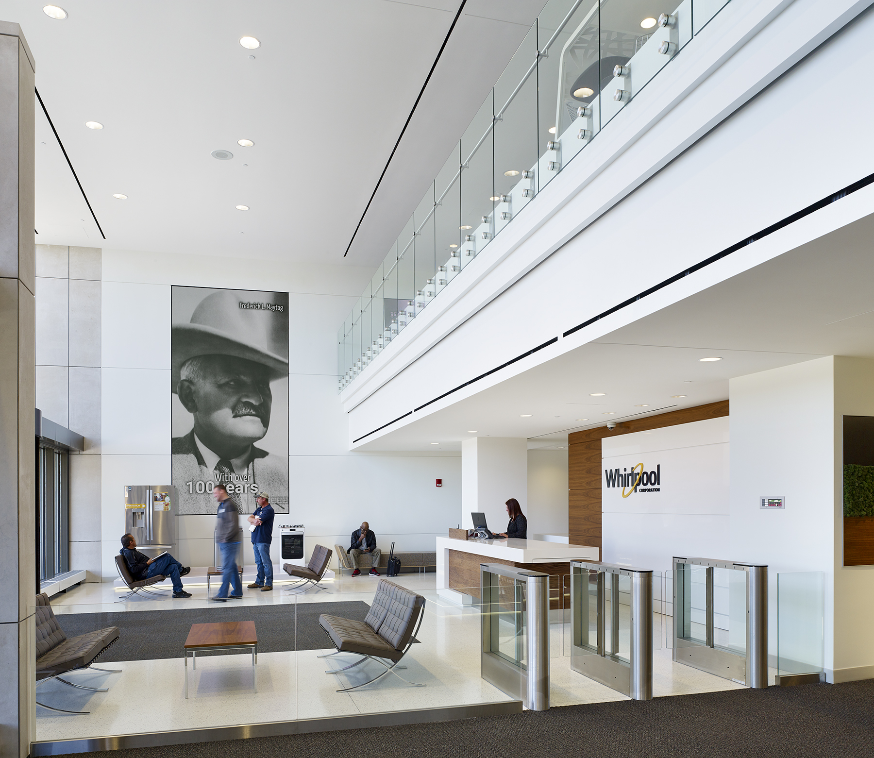whirlpool global hq_benton harbor michig - Interior Design Leed Certification