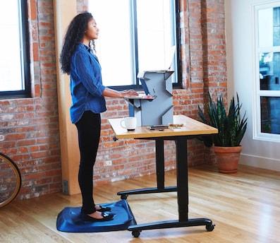 Superb Spark Start Standing Now Desk Cardboard Perfect Starter Entry Level First Standing  Desk Twenty Dollars Cardboard