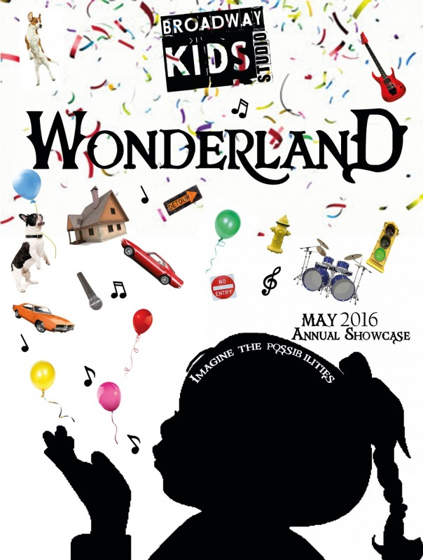 Broadway Kids Annual Showcase 2016 - Wonderland