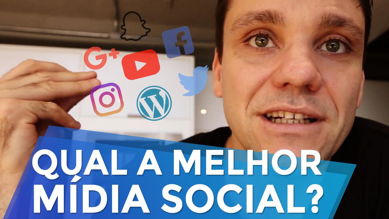 Qual a melhor mídia social?