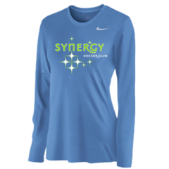 Synergy Nike Men's and Women's Long Sleeve Poly Top