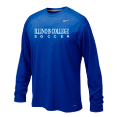 Illinois College Long Sleeve Poly Top