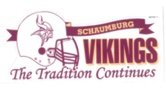 Schaumburg Vikings Decal