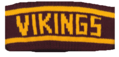 Schaumburg Vikings Knit ear warmer