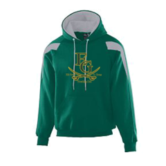 Elk Grove Grens Color Block Hooded Sweatshirt