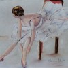 Ballerina_tying_shoe_pastel
