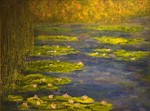 Water_lilies_with_weeping_willow_on_left