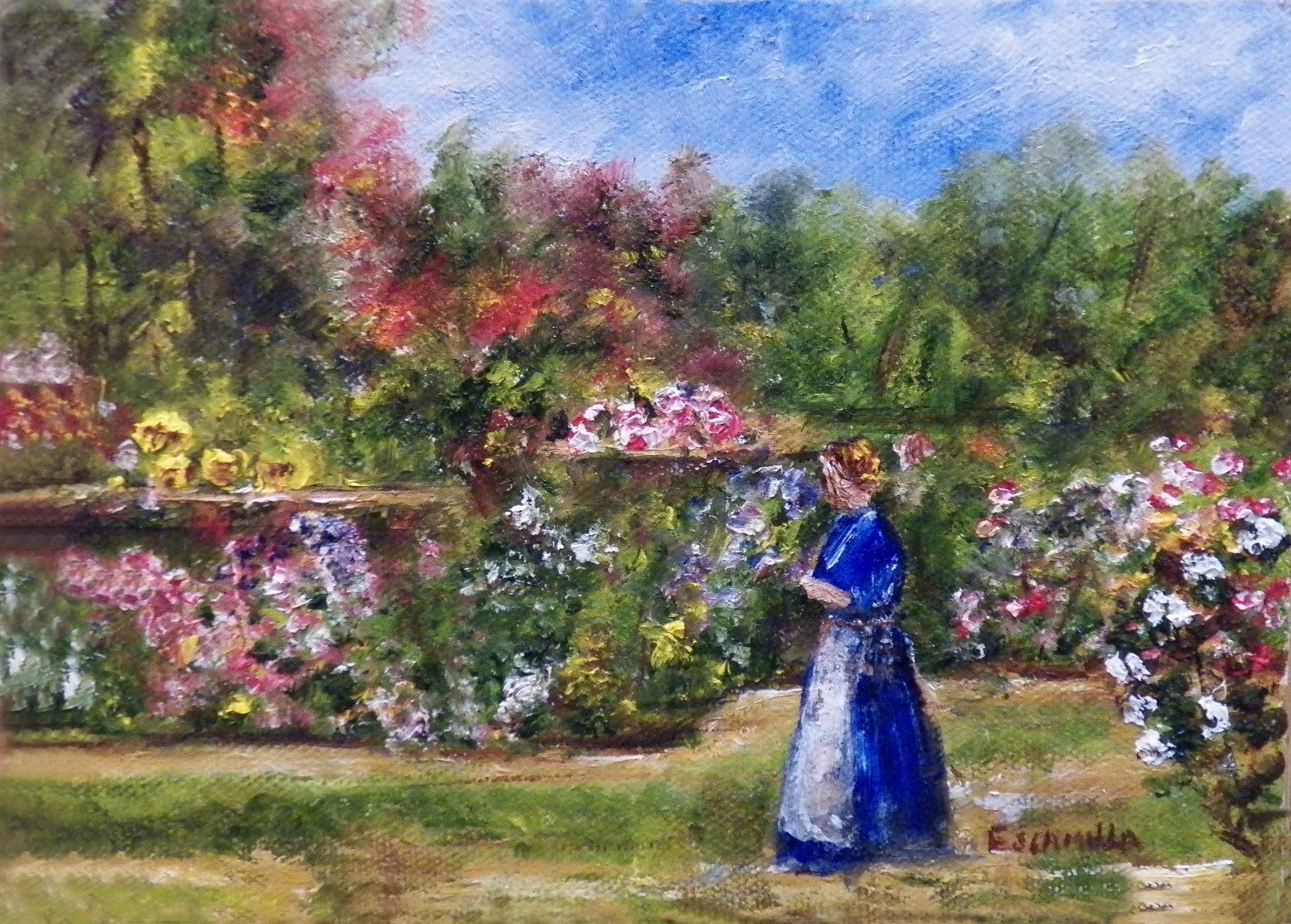 Lady_walking_in_flower_garden
