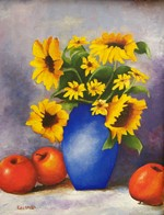Sunflowers_and_apples