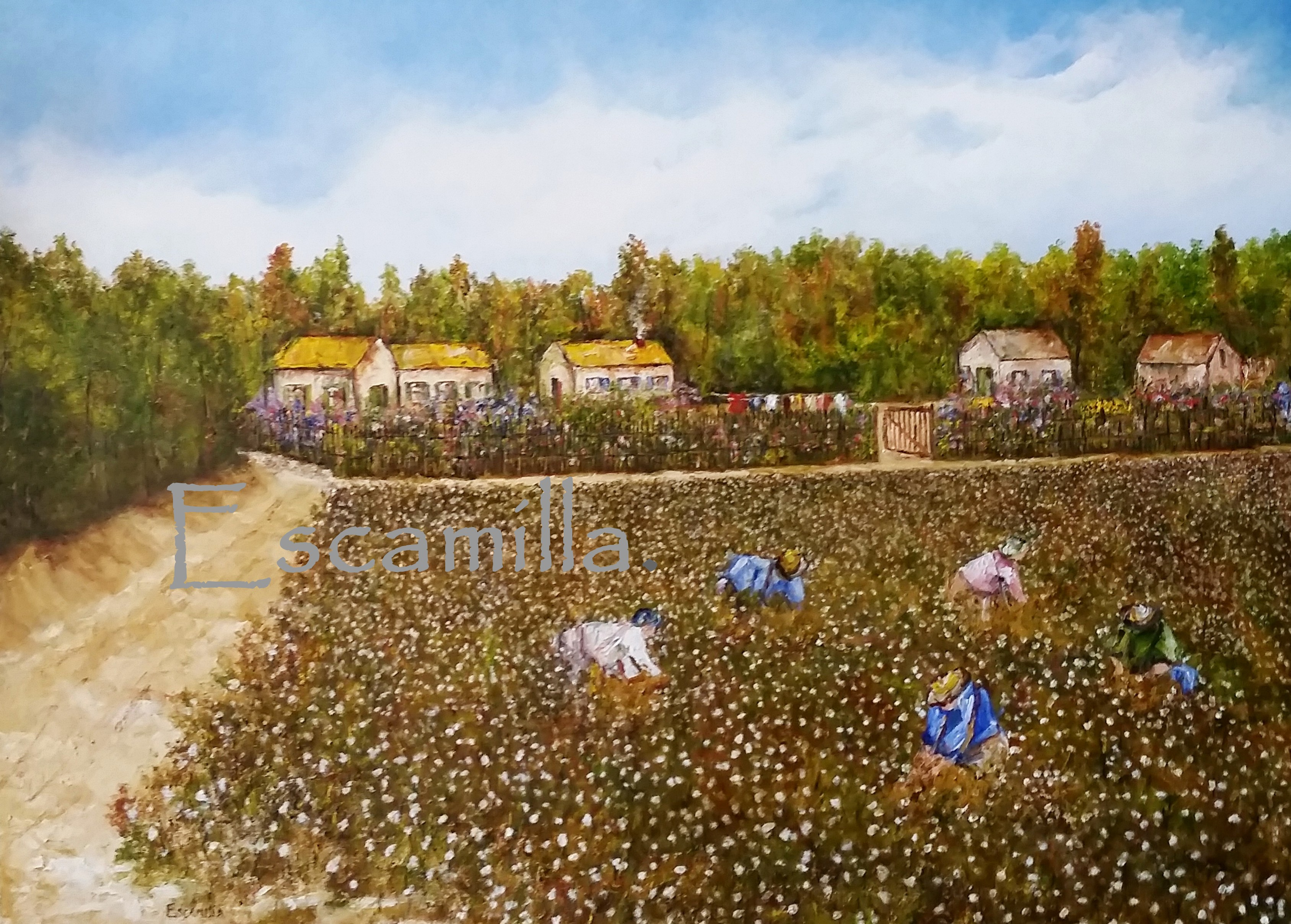 Cotton_field_wash_day_fb_30x40_2018