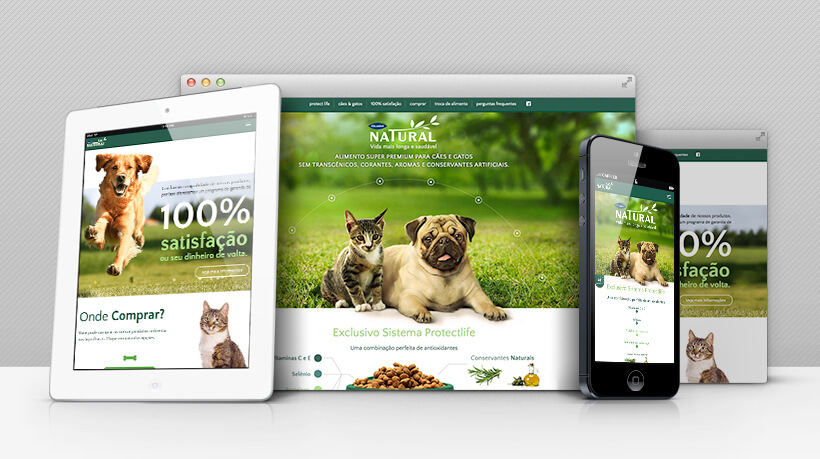A complete website to pet lovers