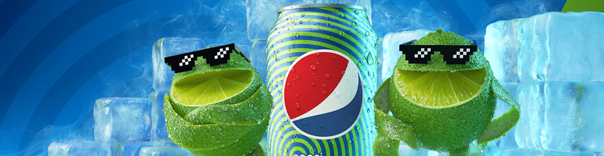 The return of the PEPSI® TWIST™ lemons