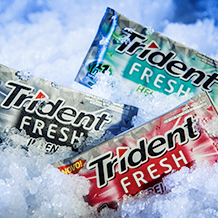 Trident Fresh brings extreme refreshment to Brazilian winter