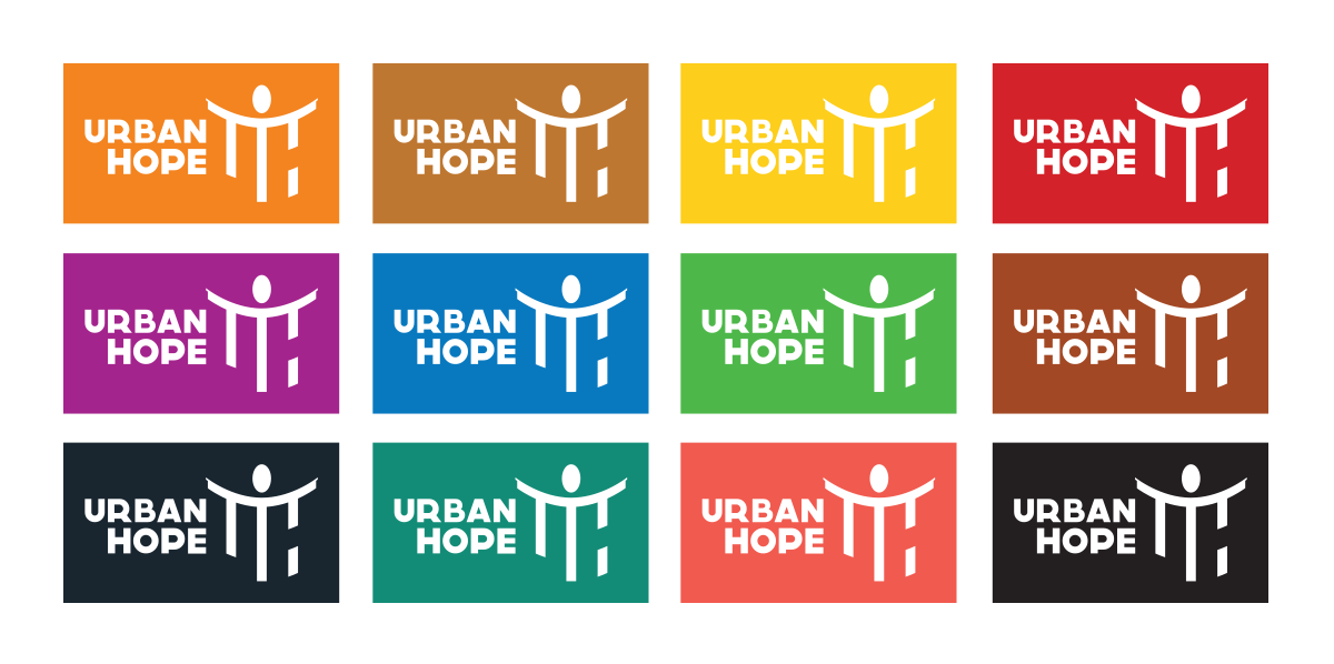 Urban Hope Coventry Logo Variations
