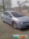 Honda Civic for sale located in Gujranwala